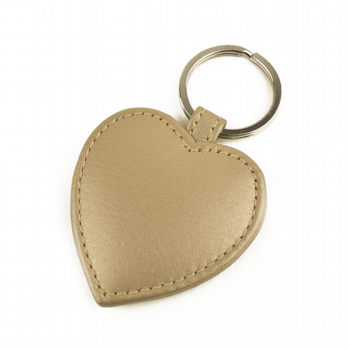 Key Ring Heart Shaped - Gold